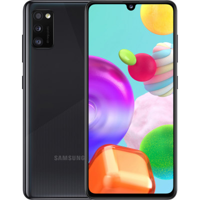 Samsung Galaxy A41 4/64GB Black (UA UCRF) - (SM-A415FZKDSEK)