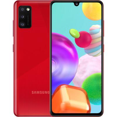 Samsung Galaxy A41 4/64GB Red (UA UCRF) - (SM-A415FZRDSEK)