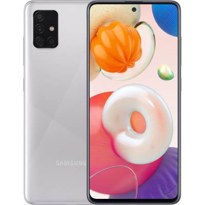 Samsung Galaxy A51 4/64Gb Metallic Silver (UA UCRF) - (SM-A515FMSUSEK)