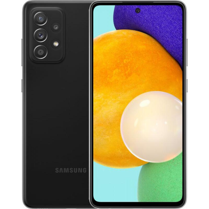 Samsung Galaxy A52 8/256Gb Awesome Black (UA UCRF) - (SM-A525FZKISEK)