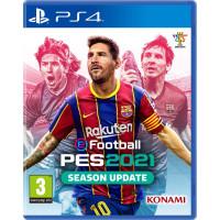 Игра Pro Evolution Soccer (PES) 2021 PS4 (русская версия)