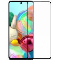 Защитное стекло Samsung Galaxy A71 5D (полный клей)