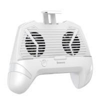 Куллер-подставка для телефона BASEUS Cool Play Games Dissipate-heat  1200mAh power bank  White
