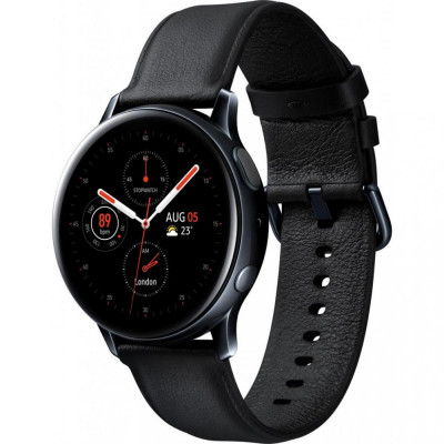 Смарт-часы Samsung Galaxy Watch Active 2 44mm Stainless Steel Black (SM-R820NSKASEKK)