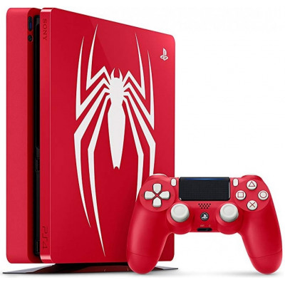 Sony PlayStation 4 Slim (PS4 Slim) 1TB with Marvels Spider-Man Limited Edition (без игры)