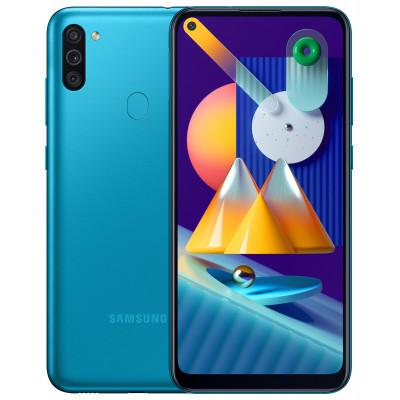 Samsung Galaxy M11 3/32Gb Blue (UA-UCRF) - (SM-M115FMBNSEK)