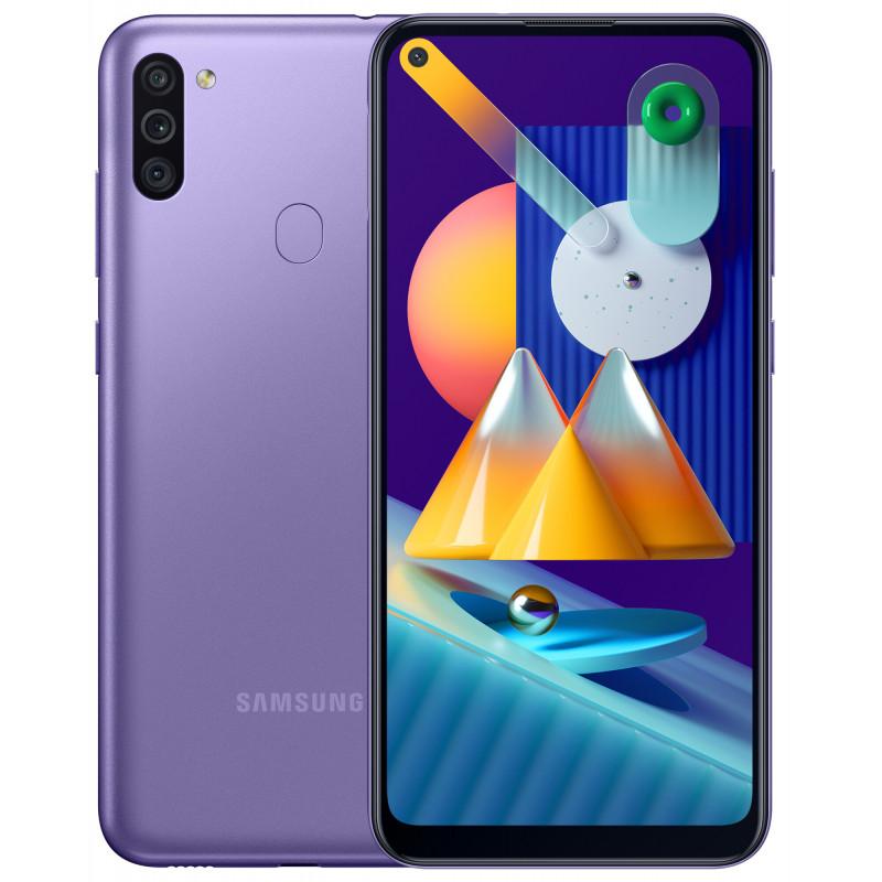 Samsung Galaxy M11 3/32Gb Violet (UA-UCRF) - (SM-M115FZLNSEK)