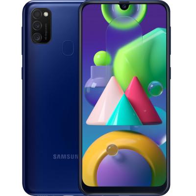 Samsung Galaxy M21 4/64Gb Blue (UA-UCRF) - (SM-M215FZBU)