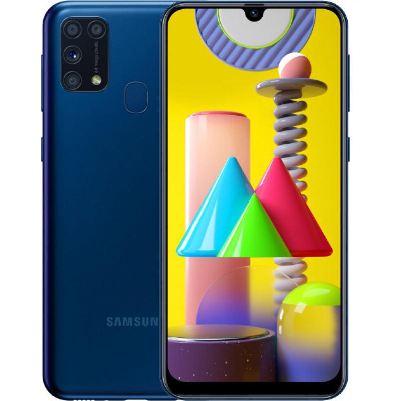 Samsung Galaxy M31 6/128Gb Blue (UA-UCRF) - (SM-M315FZBVSEK)