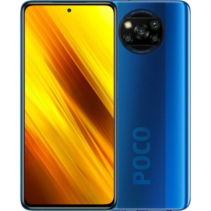 Poco X3 6/128Gb Cobalt Blue EU
