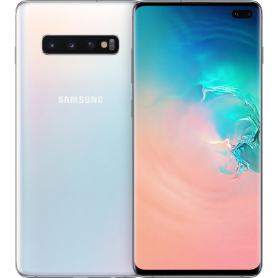 Samsung Galaxy S10 Plus 8/128Gb White (EU) - (SM-G975FZWD)