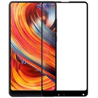 Защитное стекло Xiaomi Mi Mix 2s 5D Black (полный клей)