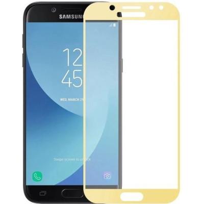 Защитное стекло Samsung j330 3D Gold