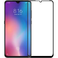 Защитное стекло Xiaomi Mi 9 5D Black (полный клей)