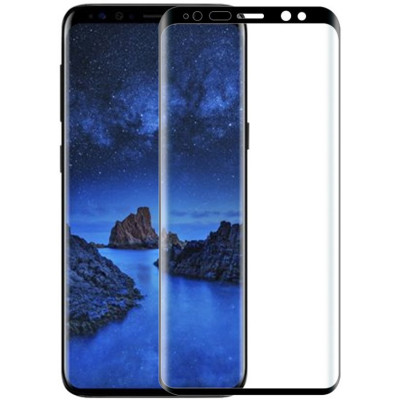 Защитное стекло Samsung Note 10 5D Black (Полный клей)