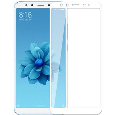 Защитное стекло Xiaomi Mi A2 / 6X 3D White