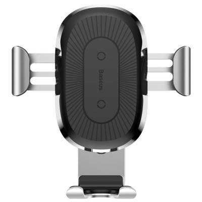 Беспроводная АЗУ Wireless Charger Baseus Gravity Car Mount (Air Outlet Version) 1.67A 10W