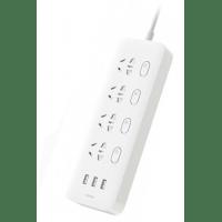 Сетевой фильтр Xiaomi Mi USB Power Strip White 4 розетки 1.8м  (3*USB + 4*китайских розетки)