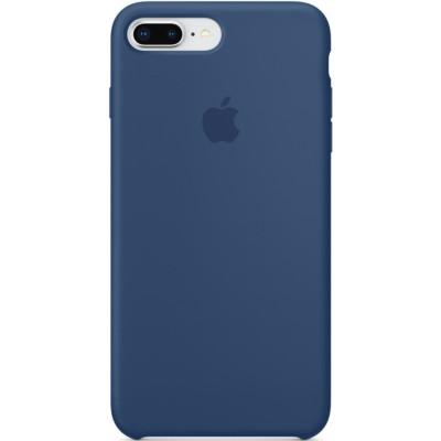 Apple Silicon Case iPhone 7 Plus / 8 Plus Blue Cobalt (HC)