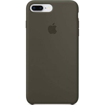Apple Silicon Case iPhone 7 Plus / 8 Plus Dark Olive (HC)