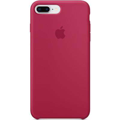 Apple Silicon Case iPhone 7 Plus / 8 Plus Rose Red (HC)