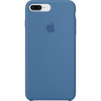 Apple Silicon Case iPhone 7 Plus / 8 Plus Denim Blue (HC)