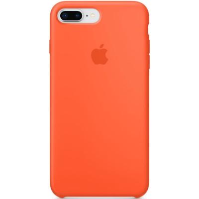 Apple Silicon Case iPhone 7 Plus / 8 Plus Spicy Orange (HC)