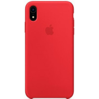 Apple Silicon Case iPhone XR Red (HC)
