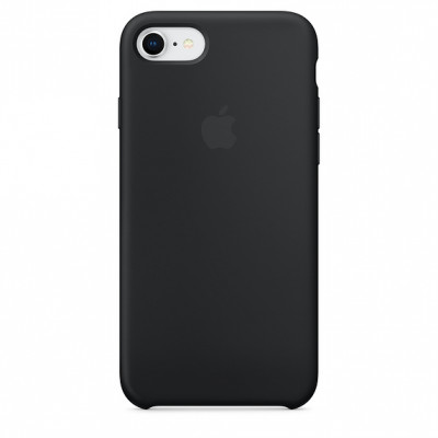 Apple Silicon Case iPhone 7/8 Black (HC)