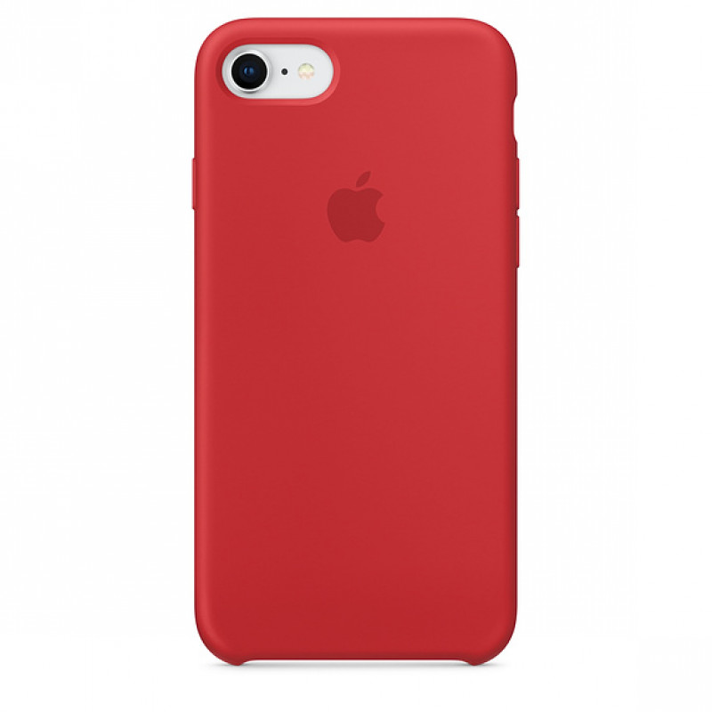 Apple Silicon Case iPhone 7/8/SE (2020) Red (HC)