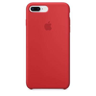 Apple Silicon Case iPhone 7 Plus / 8 Plus Red (HC)