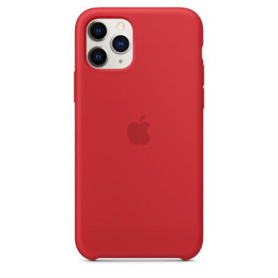 Apple Silicon Case iPhone 11 Pro Max Red (HC)