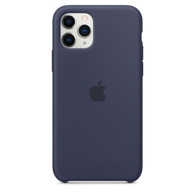 Apple Silicon Case iPhone 11 Pro Max Midnight Blue (HC)