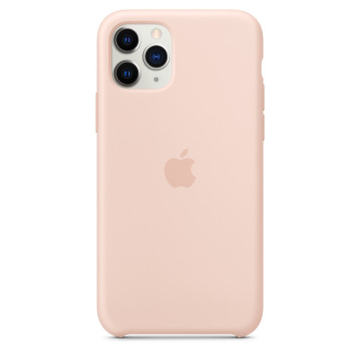 Apple Silicon Case iPhone 11 Pro Max Pink Sand (HC)
