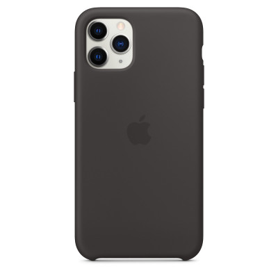 Apple Silicon Case iPhone 11 Pro Black (HC)