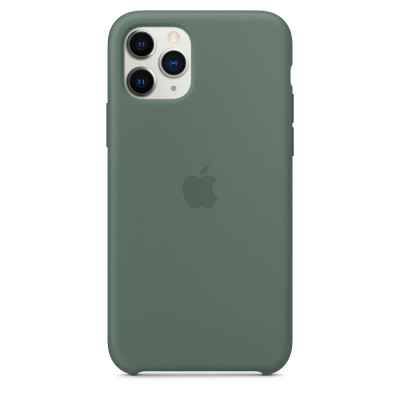 Apple Silicon Case iPhone 11 Pro Max Green (HC)