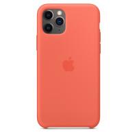 Apple Silicon Case iPhone 11 Pro Max Clementine (Orange) (HC)