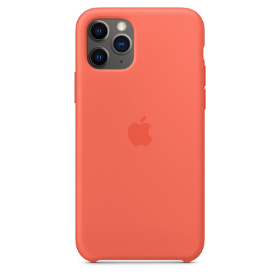 Apple Silicon Case iPhone 11 Pro Clementine (Orange) (HC)