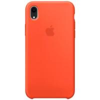 Apple Silicon Case iPhone XR Orange (HC)