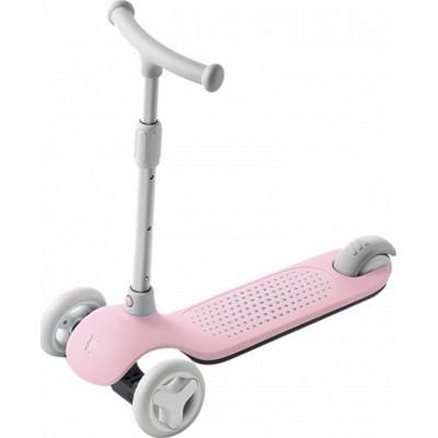 Детский самокат-кикборд Xiaomi MITU Rice Rabbit Scooter (HBC01YM) Pink