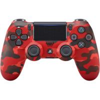 Sony DualShock 4 V2 Red Camouflage