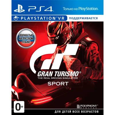 Игра Gran Turismo Sport (русская версия)