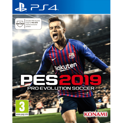 Игра Pro Evolution Soccer (PES) 2019 (русская версия)