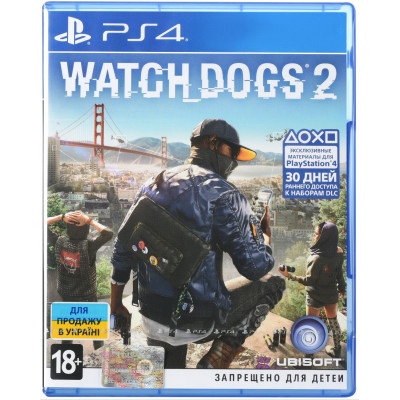 Игра Watch dogs 2 (русская версия)