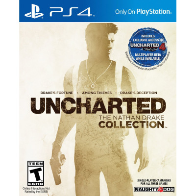 Игра Uncharted: The Nathan Drake Collection (русская версия)