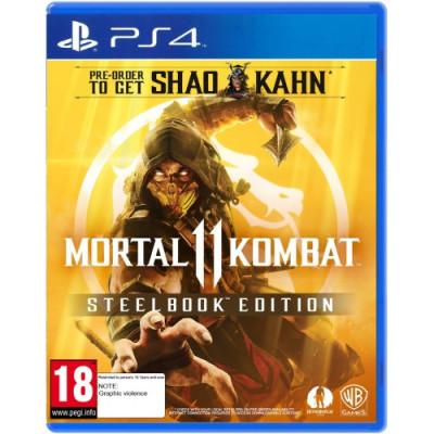 Игра Mortal Kombat 11 Steelbook Edition (русская версия)