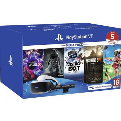 Playstation VR v2 MEGA PACK camera + 5 игр NEW
