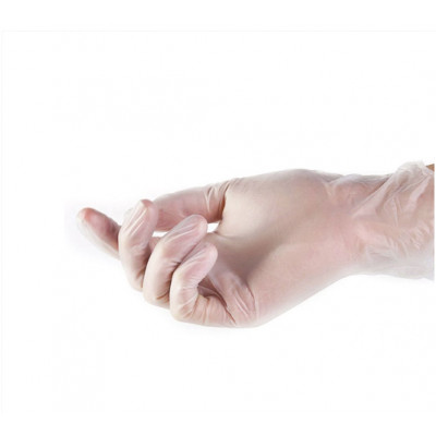 Виниловые защитные перчатки INTCO PVC Medical Vinyl Gloves (10шт. 5пар)