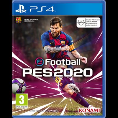Игра Pro Evolution Soccer (PES) 2020 (русская версия)