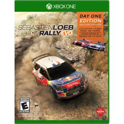 Игра Sebastien Loeb Rally Evo